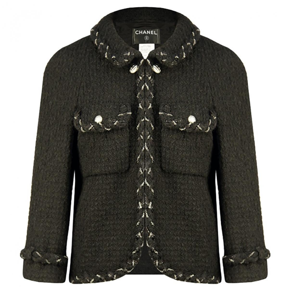 Chanel \N Black Tweed jacket for Women 40 FR