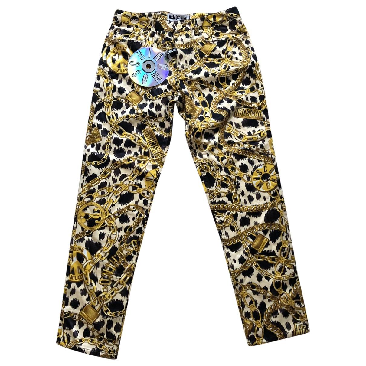 Pantalon pitillo Moschino For H&m
