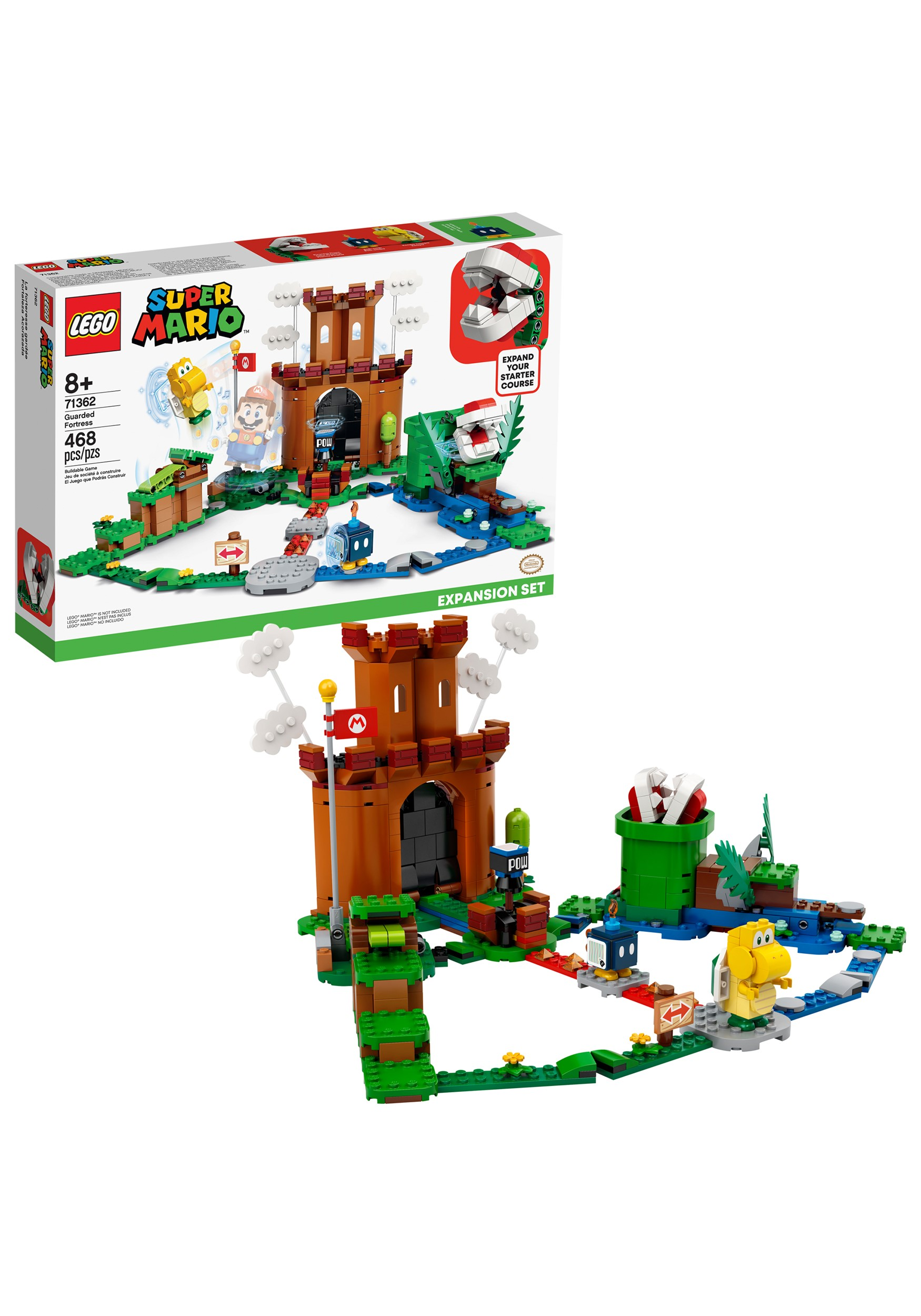 LEGO- Super Mario Guarded Fortress Expansion Set