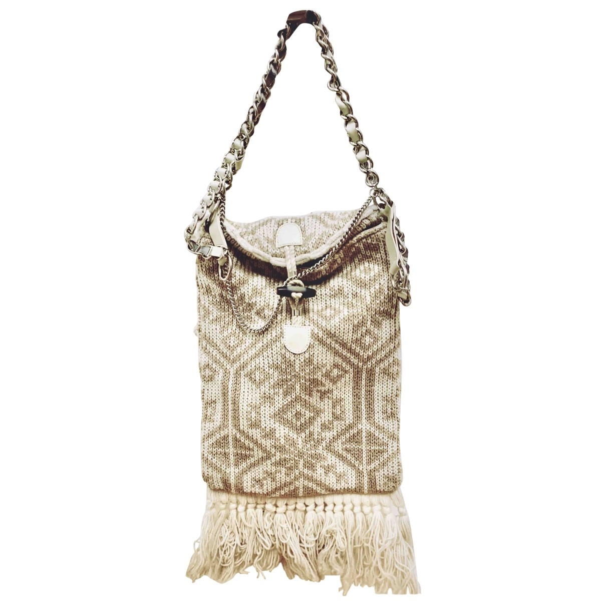 D&g \N Beige Wool handbag for Women \N