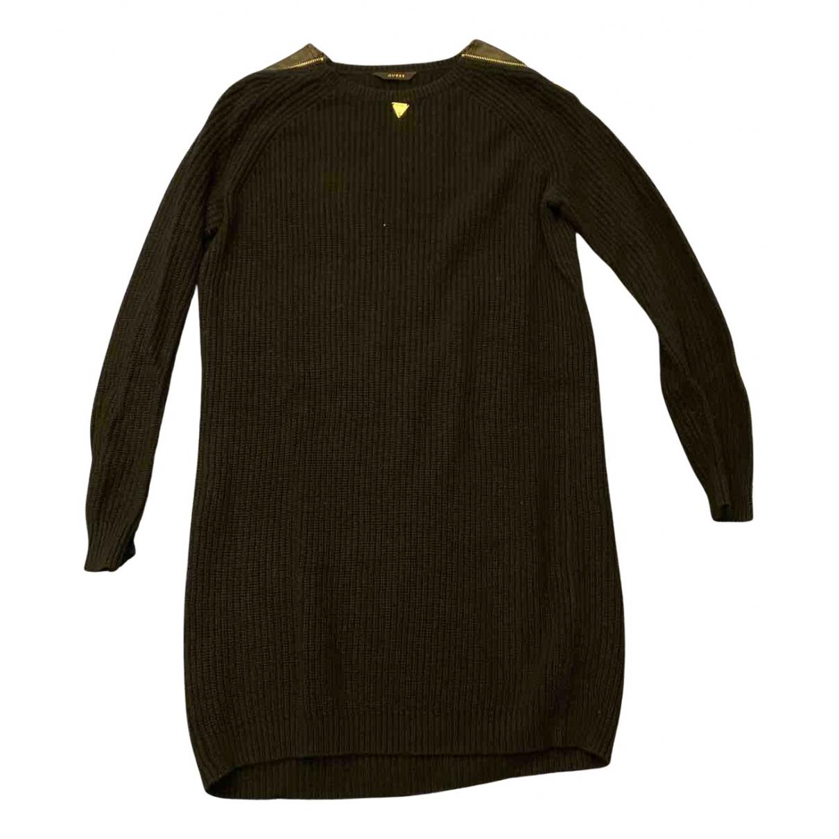 Guess - Pull   pour femme en coton - noir