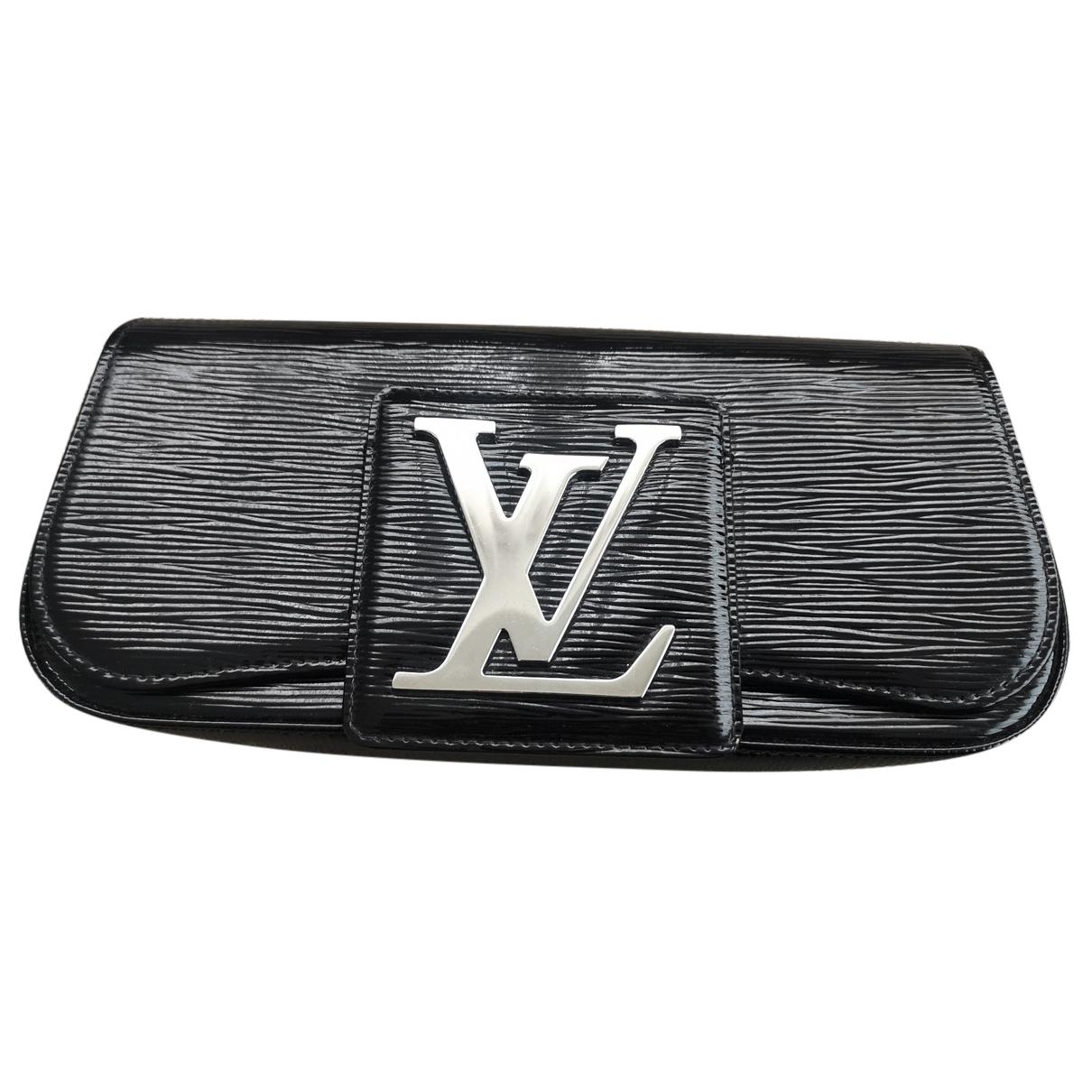 Louis Vuitton - Pochette Sobe pour femme en cuir - noir