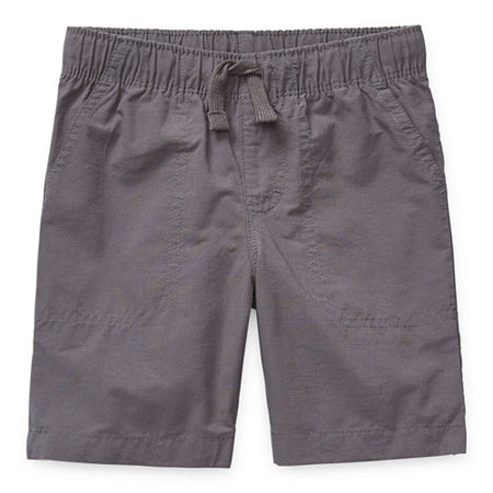 Okie Dokie Toddler Boys Pull-On Short, 3t , Black