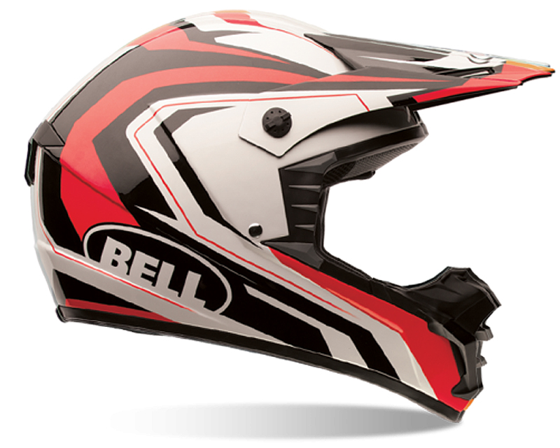 Bell Racing 7061244 SX-1 Storm Red Helmet XS | 54-55