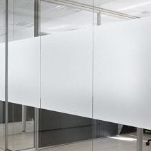 Plain Matte Waterproof Glass Sticker