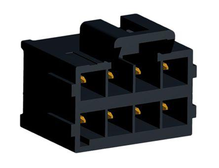Molex , Ultra-Fit, 172298, 8 Way, 2 Row, Vertical PCB Header (5)