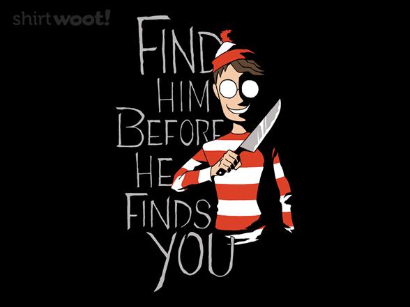 Hiding In The Dark T Shirt