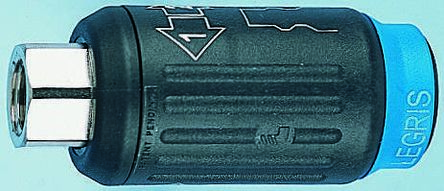 Legris Pneumatic Quick Connect Coupling Reinforced Polymer 1/2 in Threaded