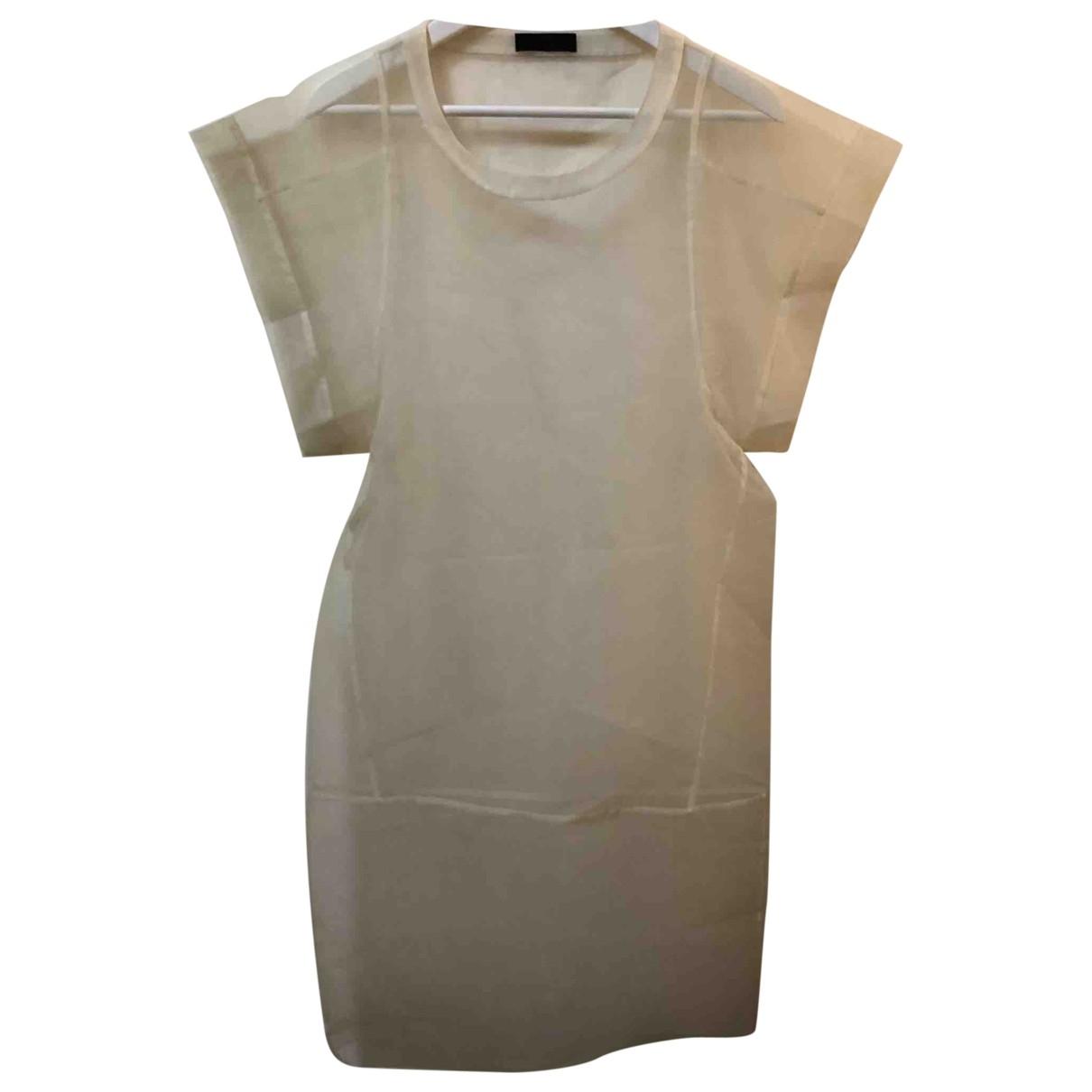 Costume National \N Kleid in  Beige Polyester