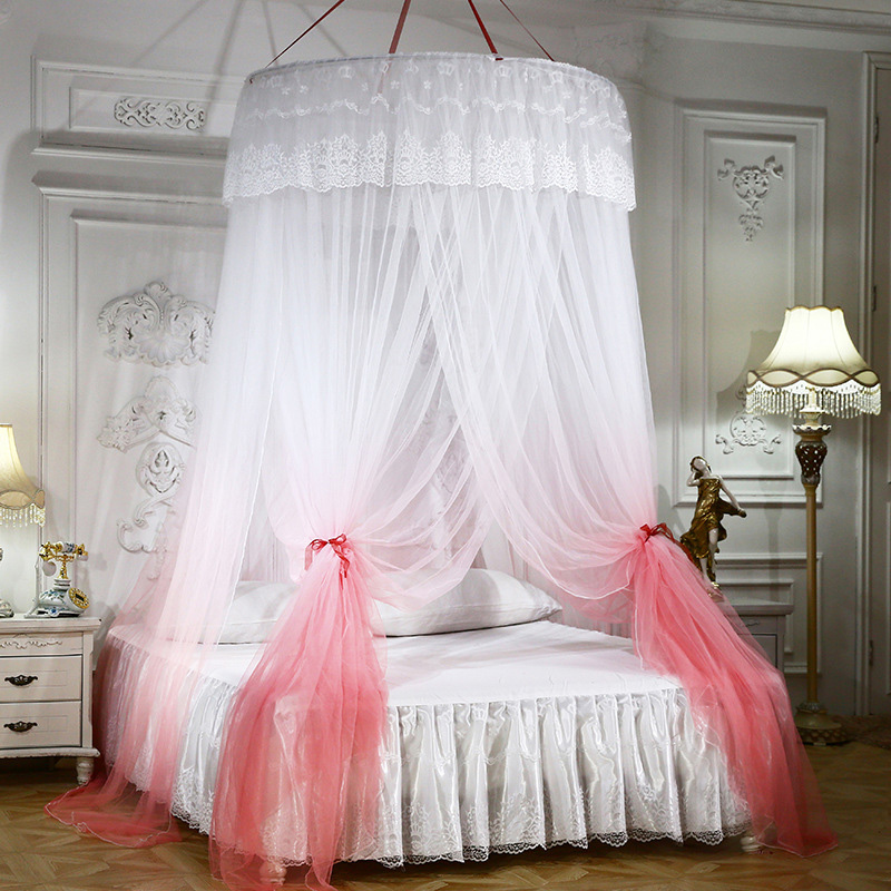 Indoor Round Folded Polyester Mosquito net
