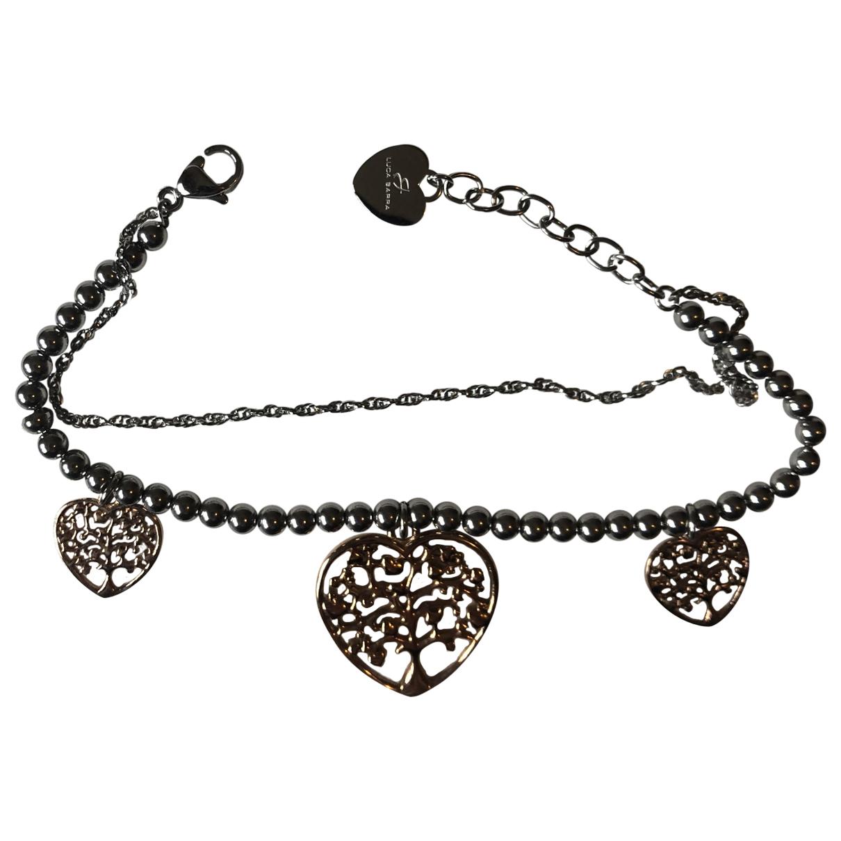 - Bracelet Motifs Coeurs pour femme en metal - argente