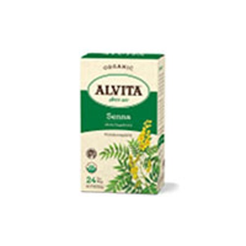 Organic Herbal Tea Senna Leaf 24 BAGS by Alvita Teas