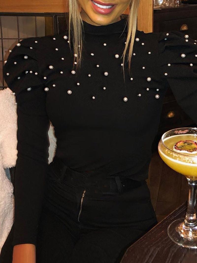 Ericdress Long Sleeve Standard Women's Casual Slim T-Shirt