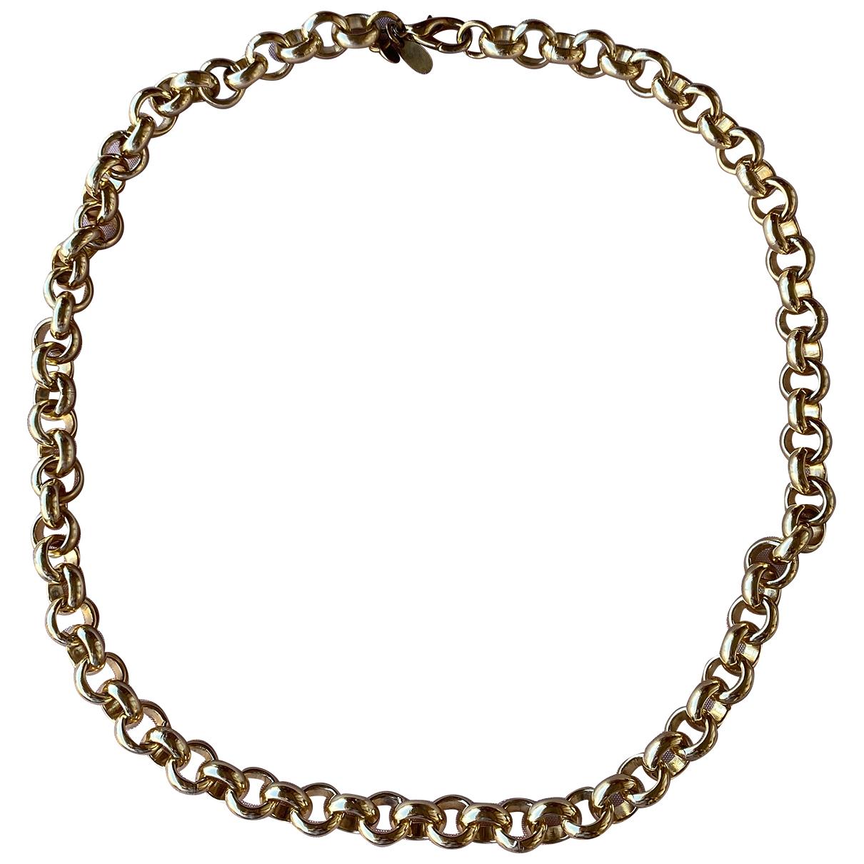 Furla - Collier   pour femme en metal - dore
