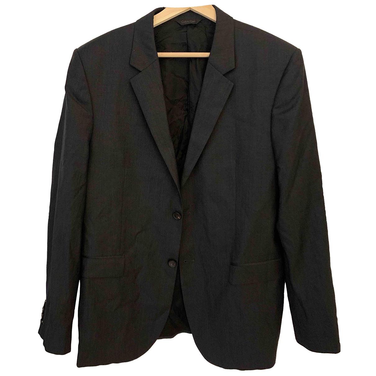 Calvin Klein N Grey Suits for Men 52 IT