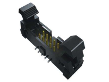 Samtec , EHT, 8 Way, 1 Row, Vertical PCB Header (18)