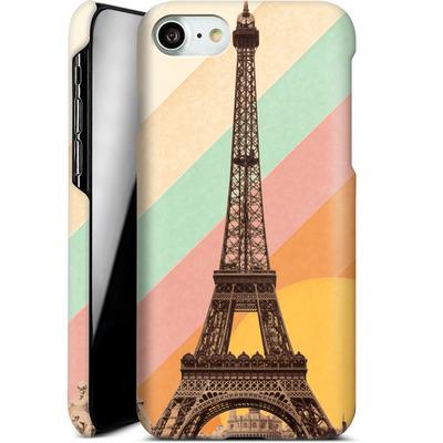 Apple iPhone 8 Smartphone Huelle - Eiffel Tower Rainbow von Florent Bodart