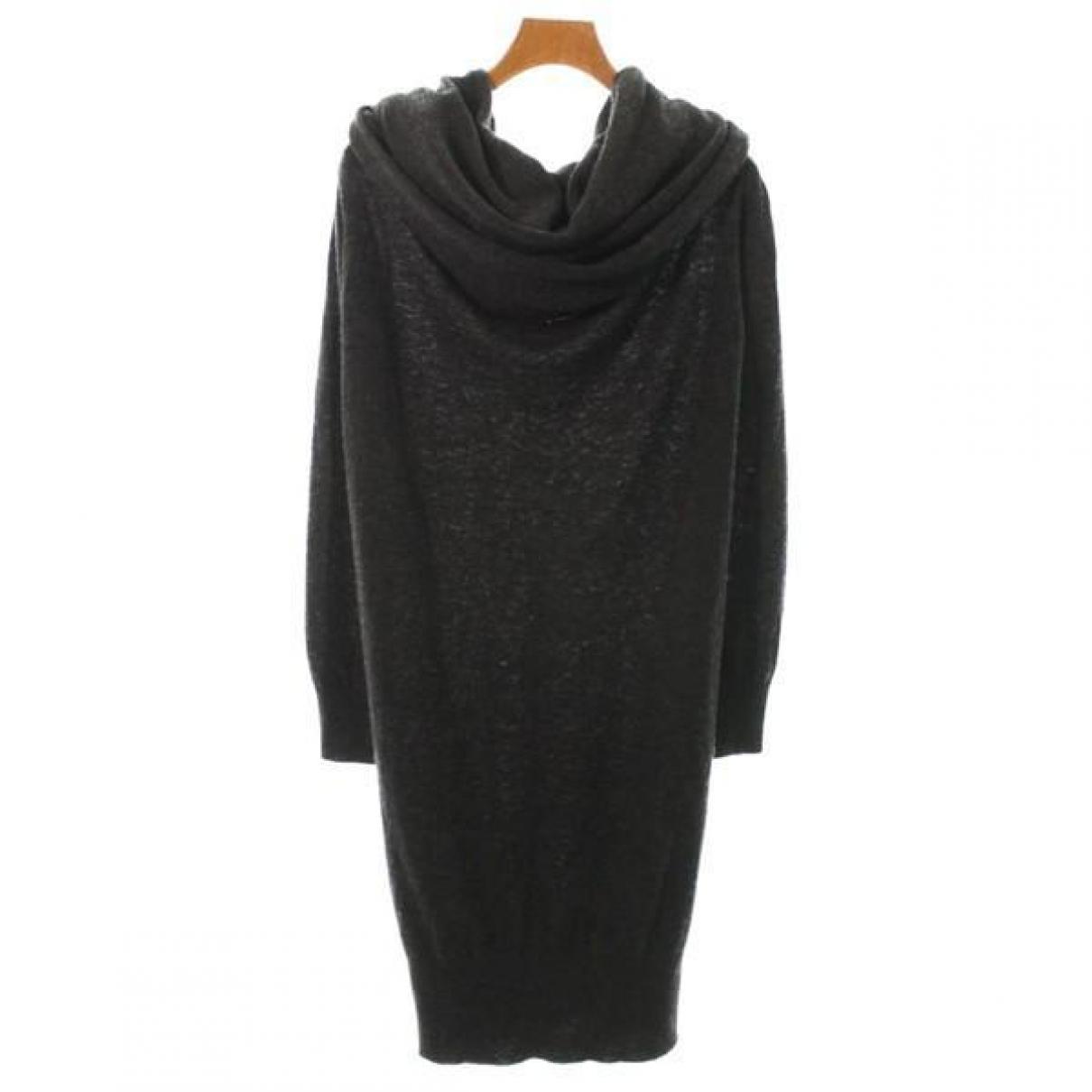 Lanvin - Robe   pour femme en laine - gris