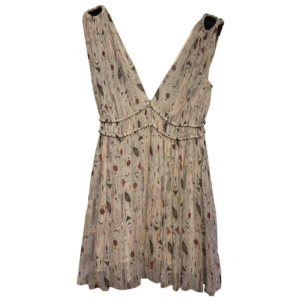 Isabel Marant Etoile \N Kleid in  Weiss Seide