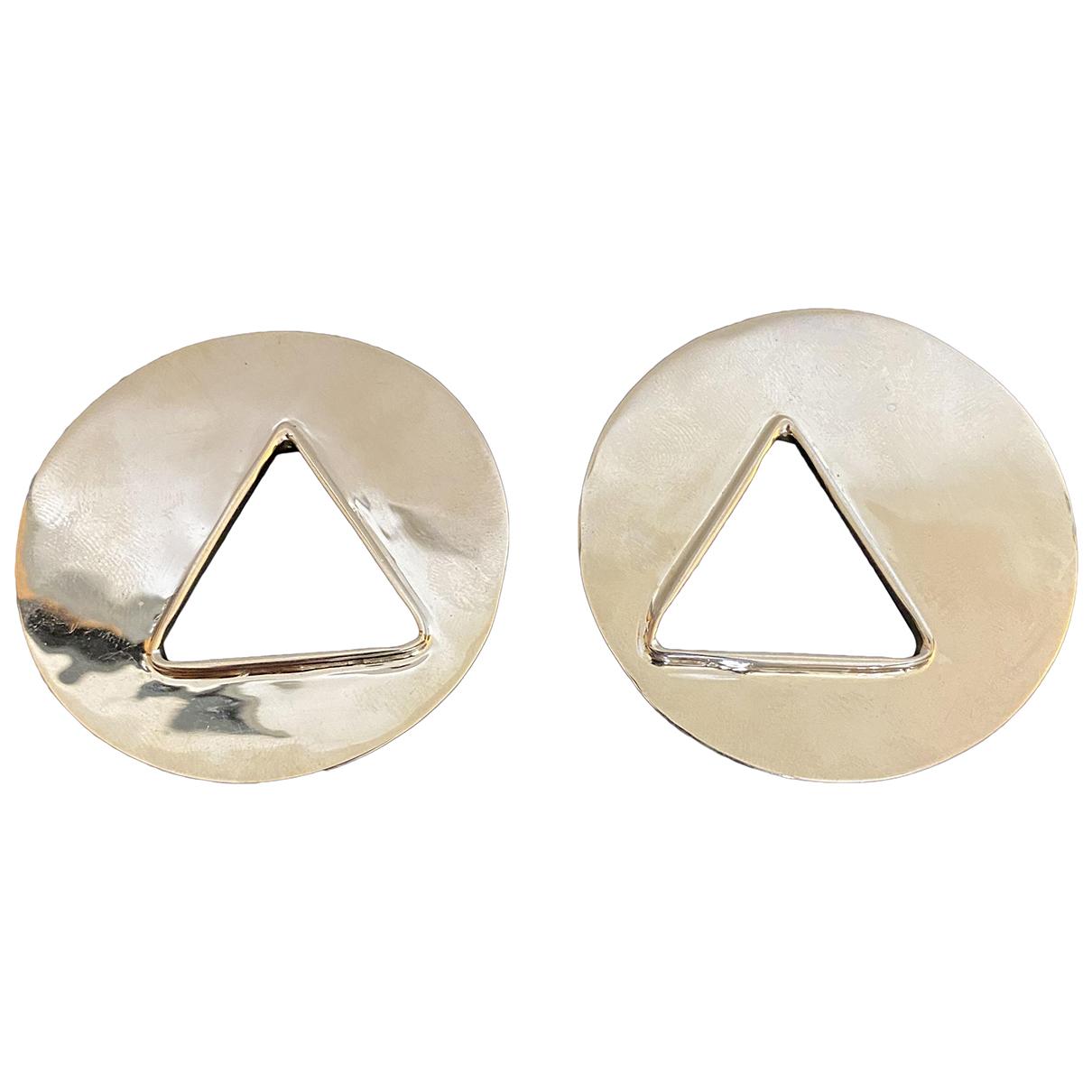 Anndra Neen \N OhrRing in  Silber Metall
