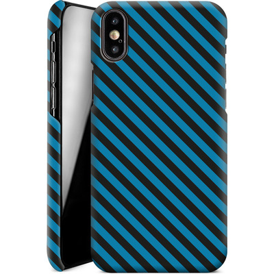 Apple iPhone X Smartphone Huelle - Stripes von caseable Designs