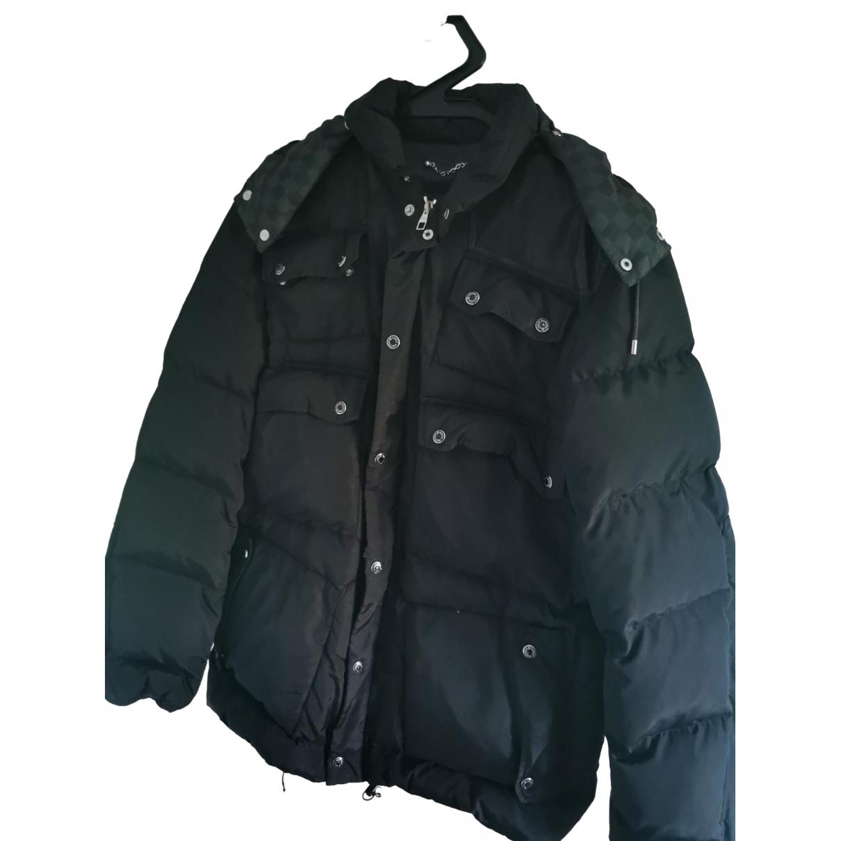 Louis Vuitton \N Black coat  for Men XL International