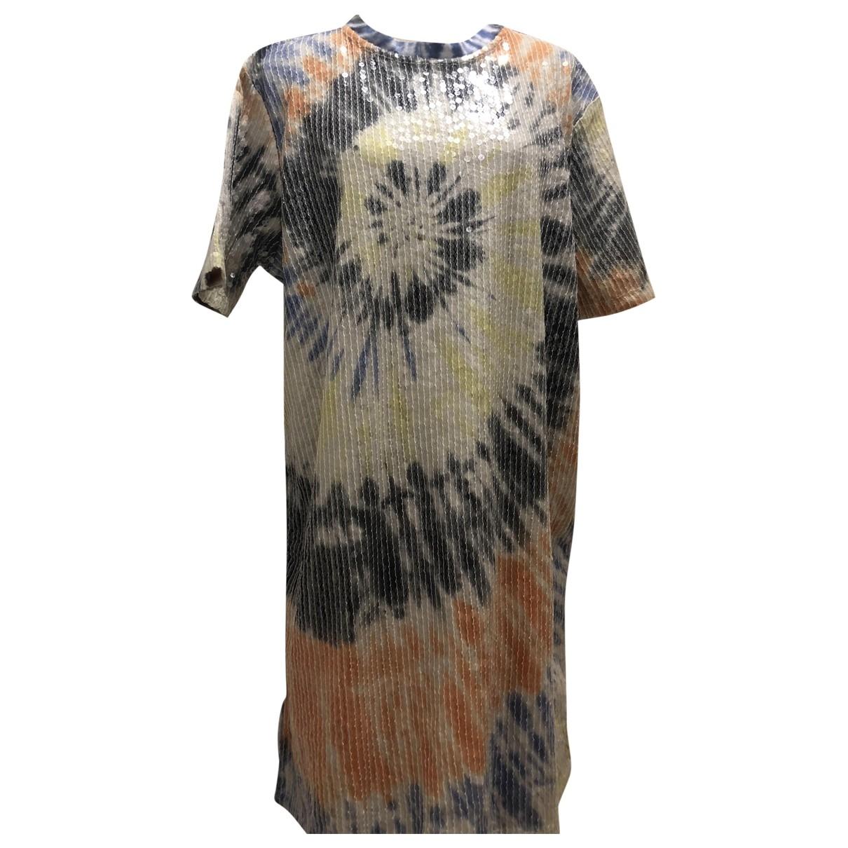 Asos - Robe   pour femme en coton - multicolore