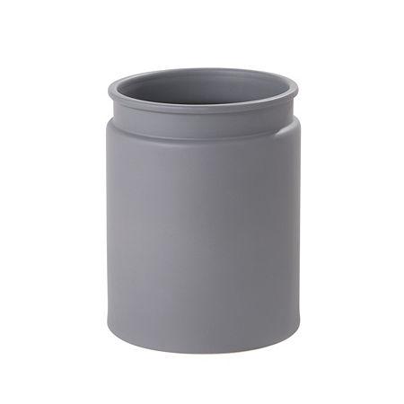 Taylor Wastebasket, One Size , Gray