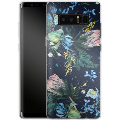 Samsung Galaxy Note 8 Silikon Handyhuelle - Celest von Stephanie Breeze