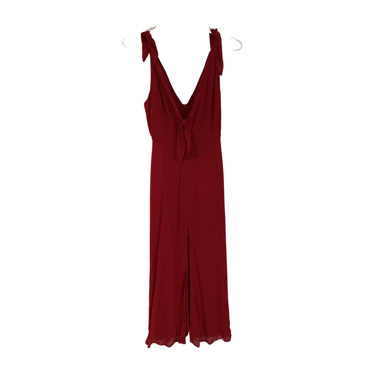 Reformation \N Red dress for Women XS International