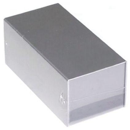 Takachi Electric Industrial MB Silver Aluminium Enclosure, 120 x 60 x 50mm