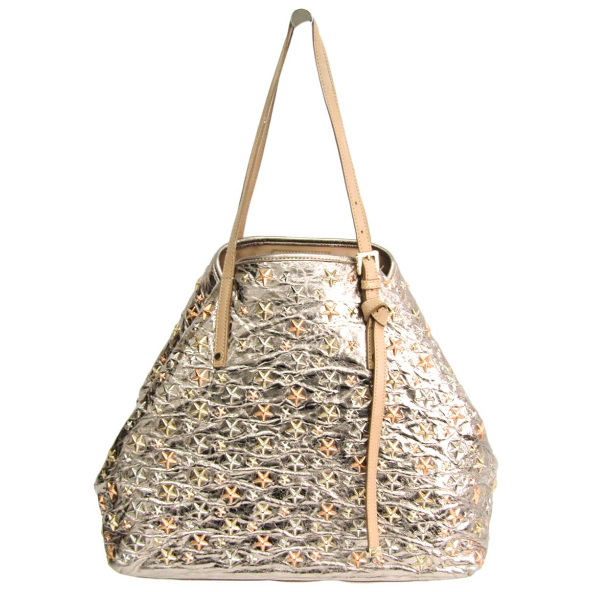 Jimmy Choo \N Gold Leather handbag for Women \N