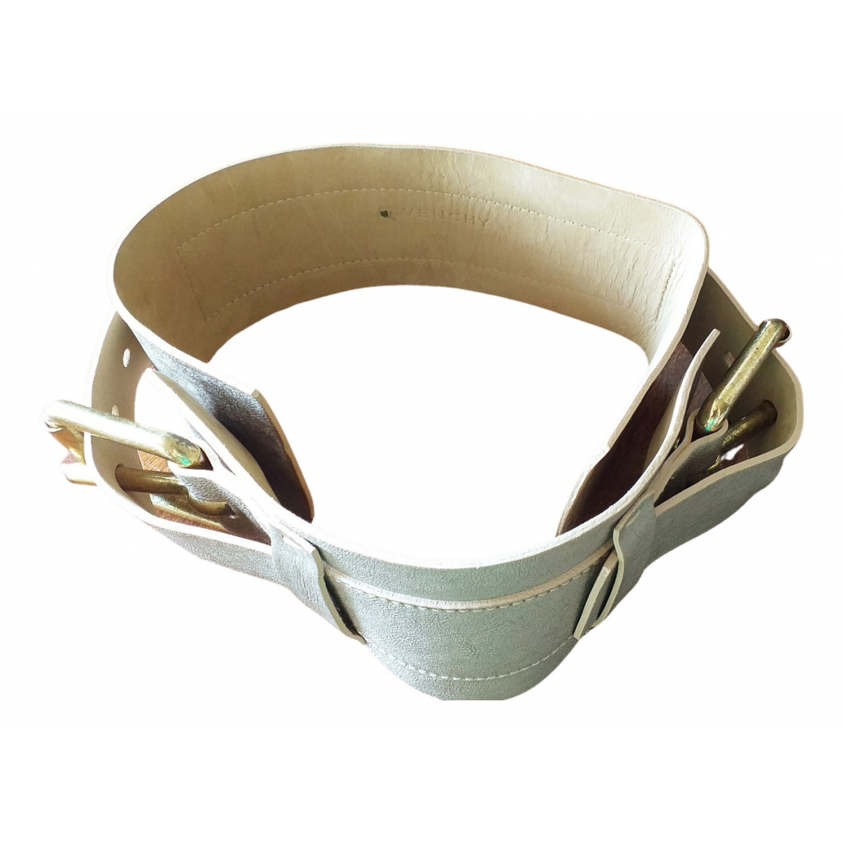 Givenchy N Beige Leather belt for Women S International