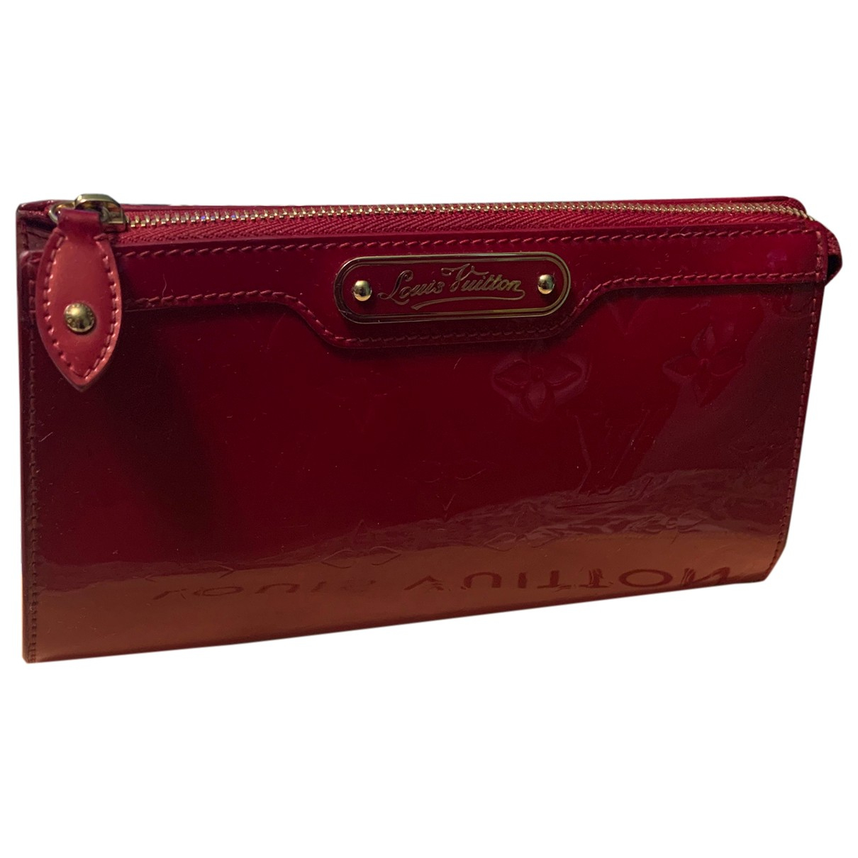 Louis Vuitton N Red Patent leather Travel bag for Women N