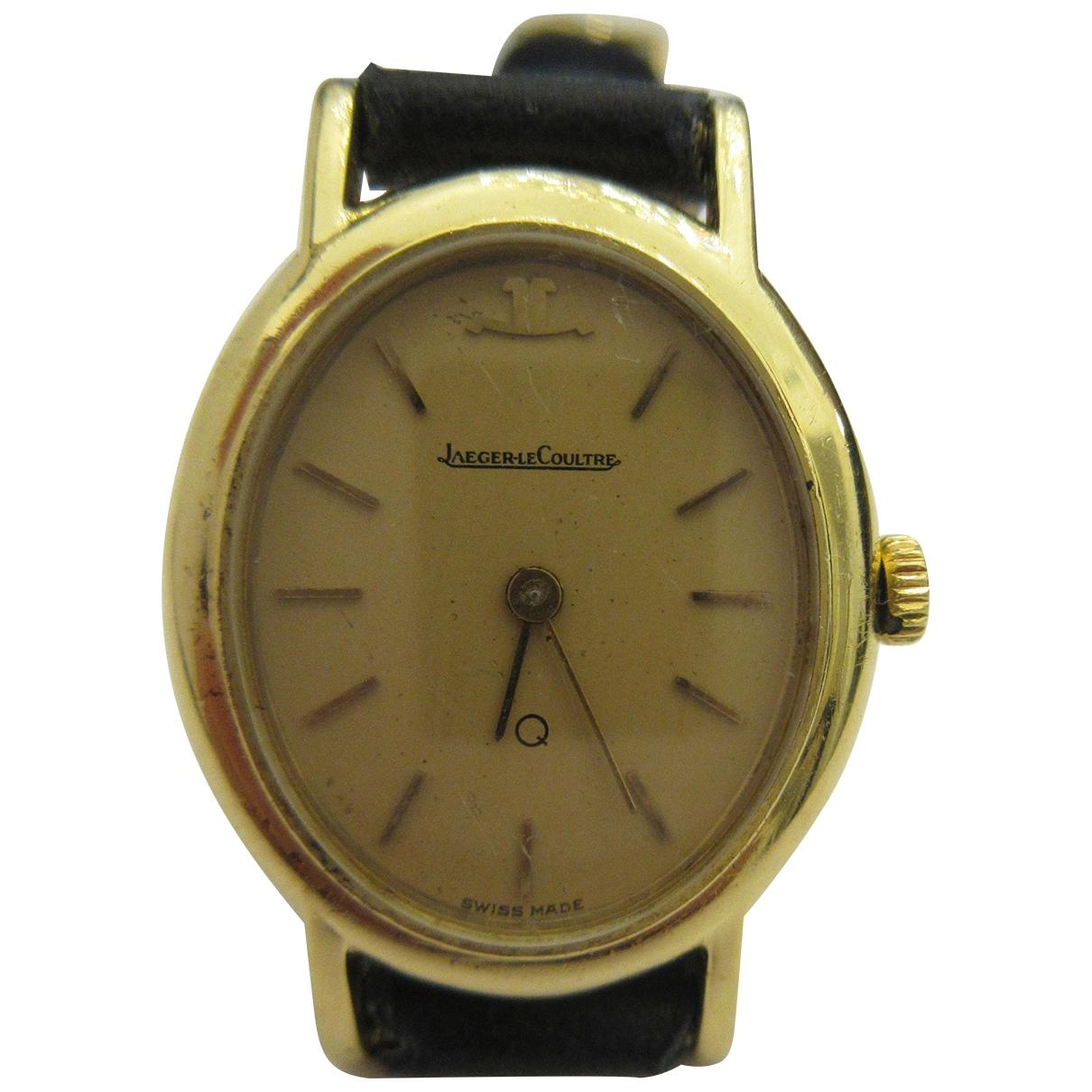 Jaeger-lecoultre Vintage Uhr in Gelbgold