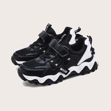 Jungen Sneakers mit Klettverschluss und Netzstoff