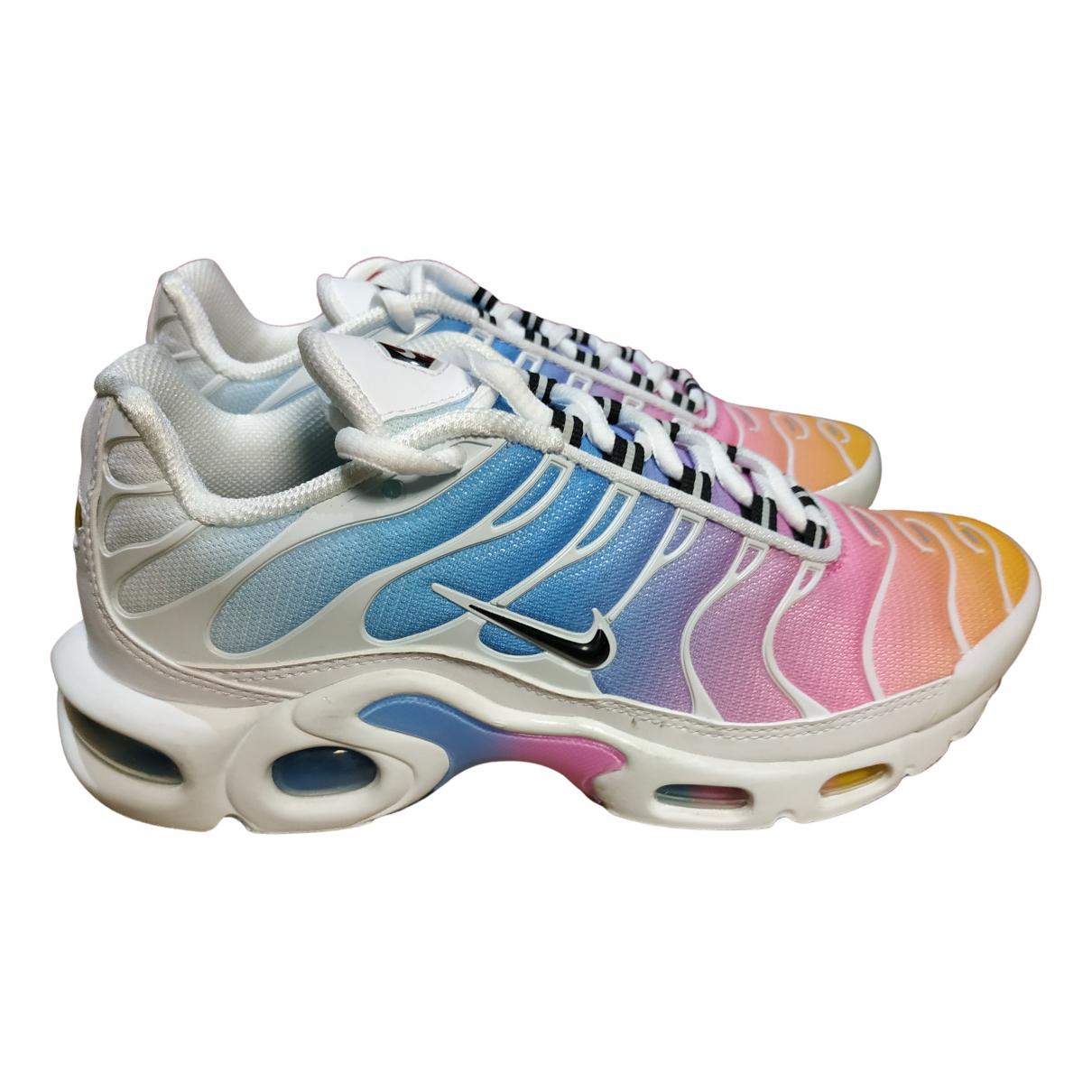 Nike - Baskets Air Max Plus  pour femme en caoutchouc - multicolore
