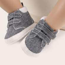 Baby Jungen Minimalistische Sneakers mit Klettverschluss