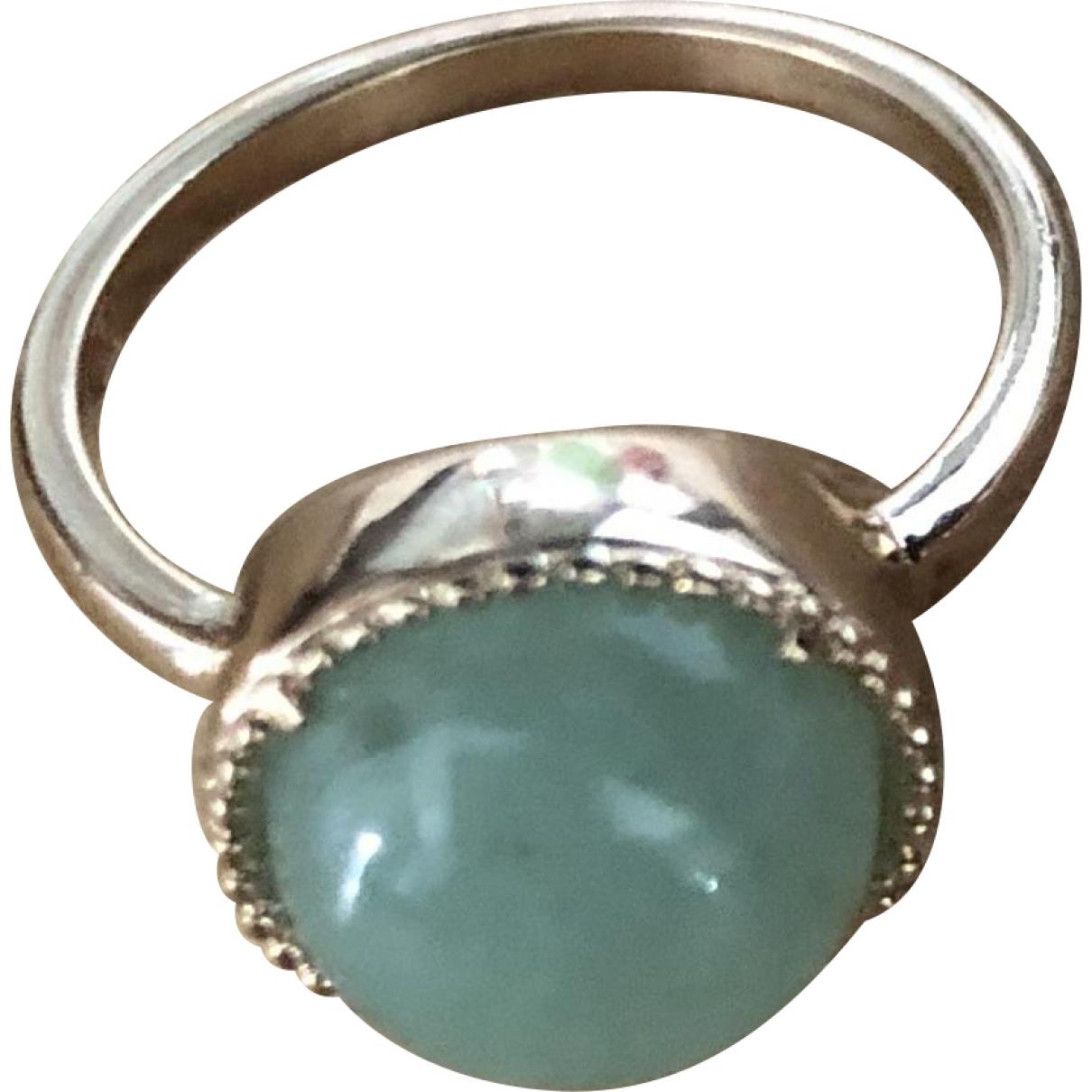 Non Signe / Unsigned \N Ring in  Gruen Vergoldet