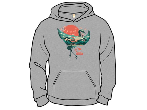 Crane Spirit T Shirt