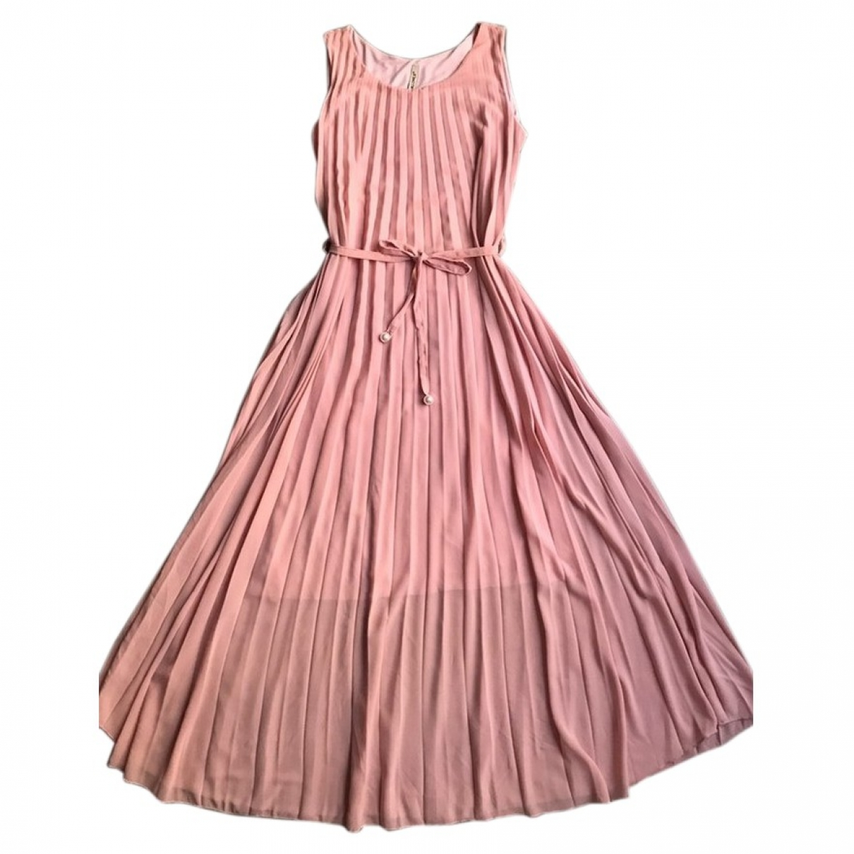 Non Signe / Unsigned \N Kleid in  Rosa Polyester