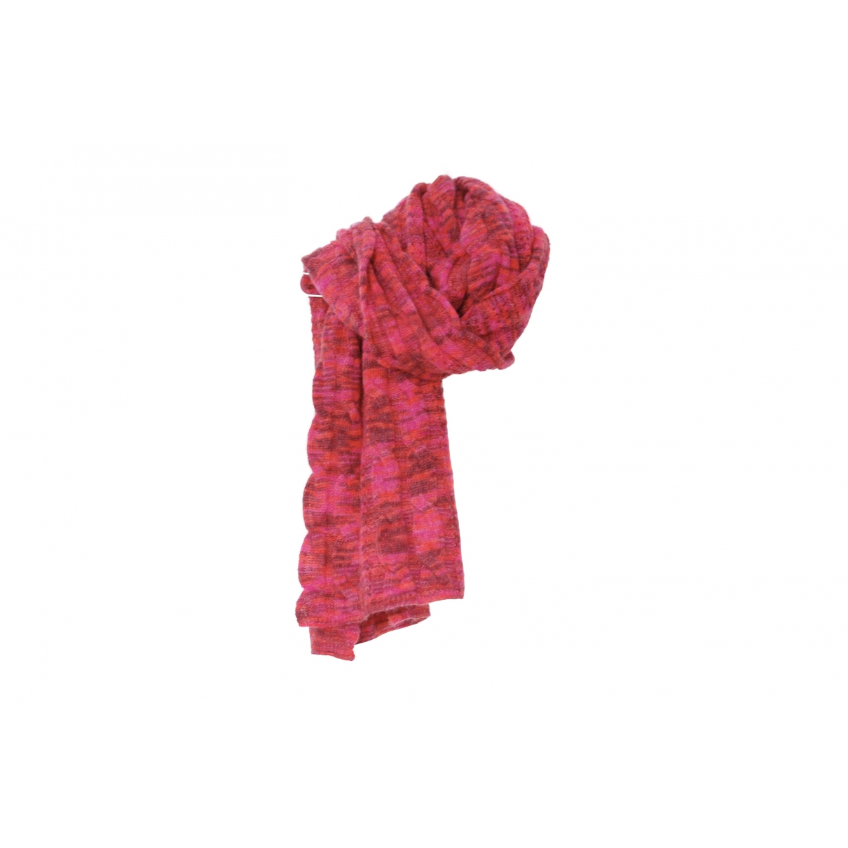Missoni \N Schal in  Rosa Wolle
