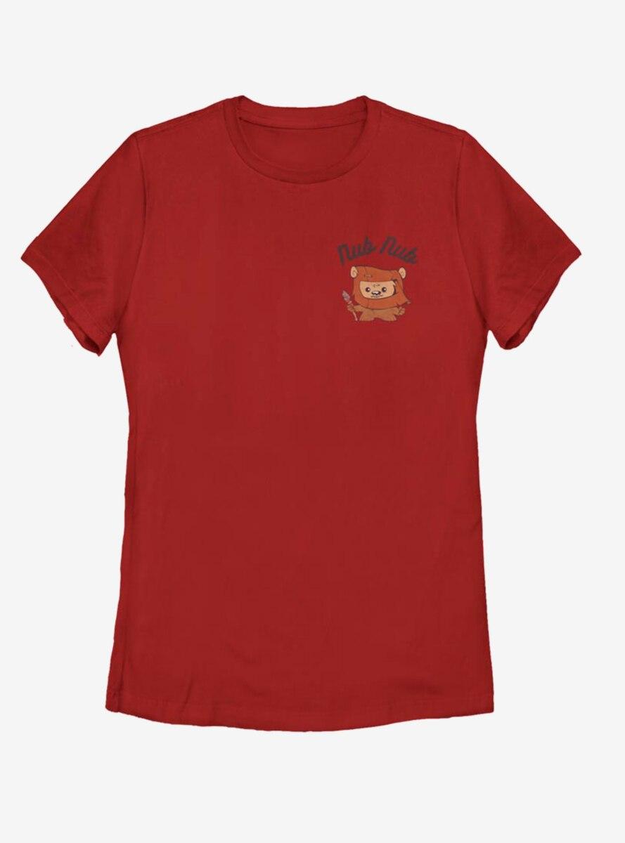 Star Wars Nub Nub Sketch Womens T-Shirt