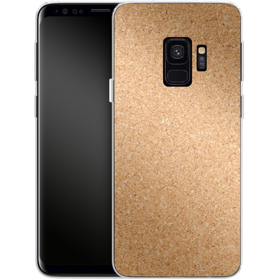 Samsung Galaxy S9 Silikon Handyhuelle - Cork von caseable Designs