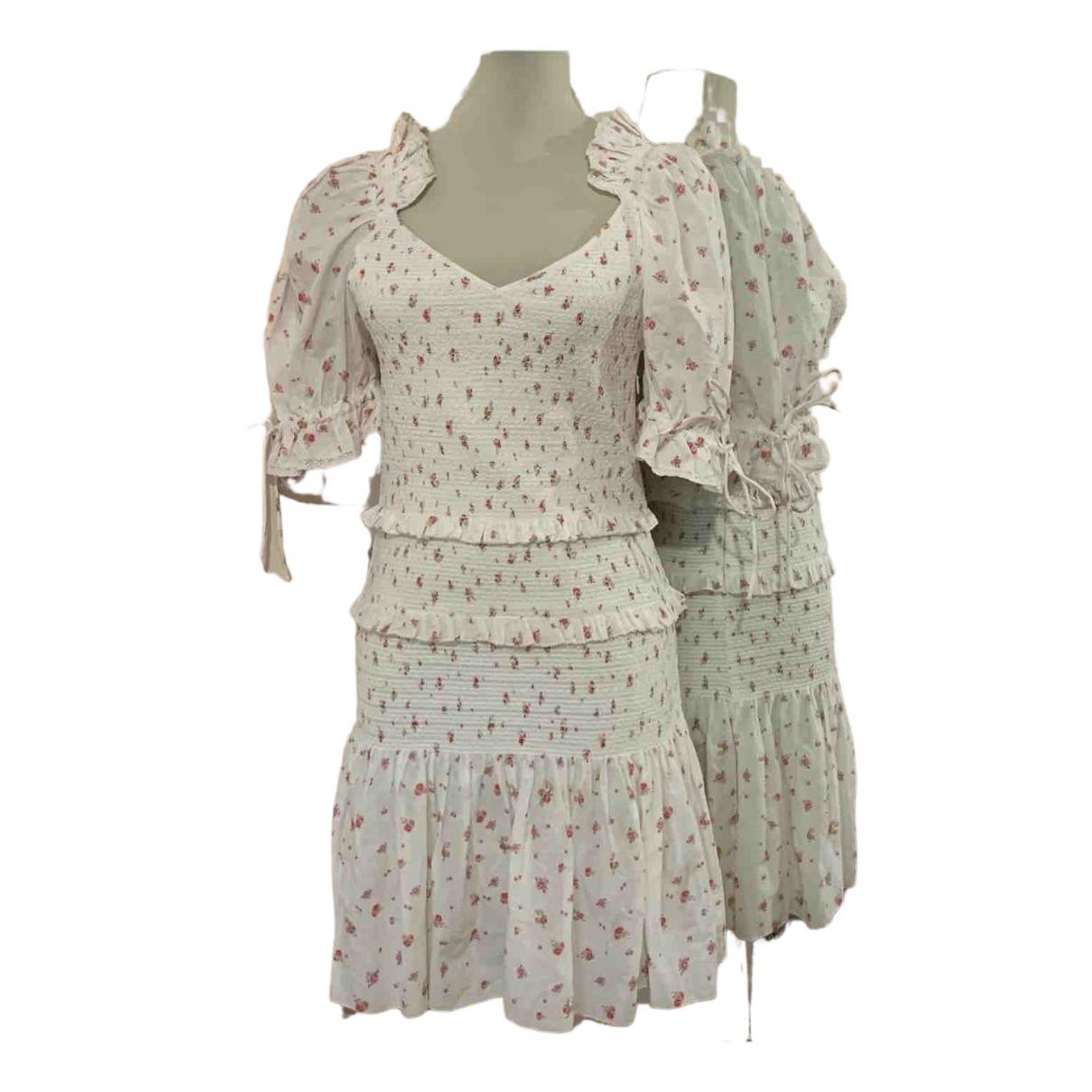 Love Shack Fancy \N Kleid in  Bunt Baumwolle
