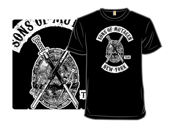 Sons Of Mutagen T Shirt