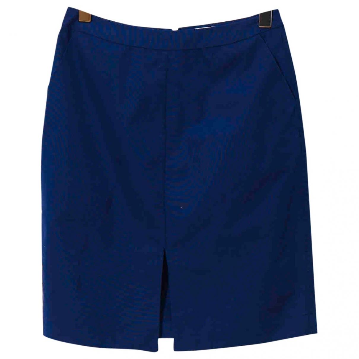Non Signé / Unsigned \N Navy Cotton skirt for Women 8 US