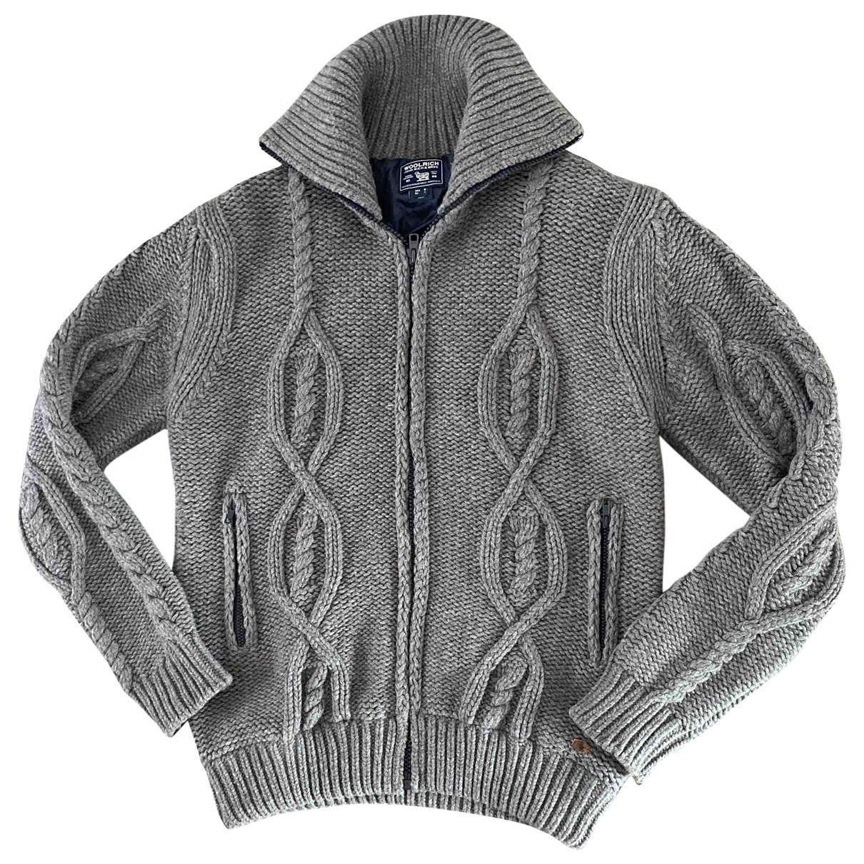 Woolrich \N Pullover.Westen.Sweatshirts  in  Grau Wolle