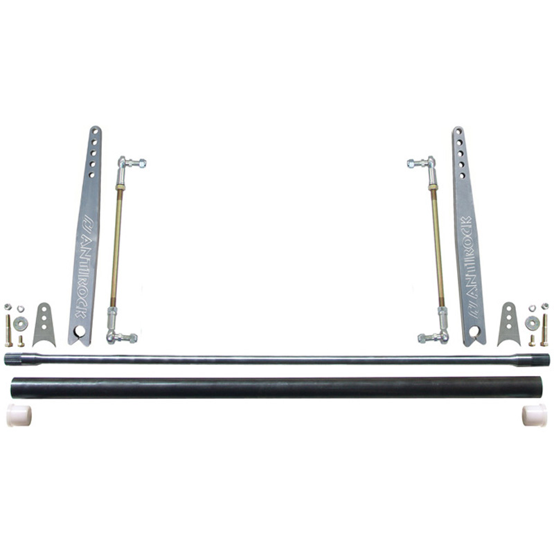 RockJock 4x4 CE-9901A-20B Universal Antirock Kit 36 Inch Bar W/Bent 20 Inch Aluminum Arms