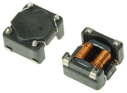 Wurth Elektronik Wurth, WE-SL5 Wire-wound SMD Inductor with a Ferrite Core, 470 μH ±40% Sectional Winding 1.6A Idc (5)